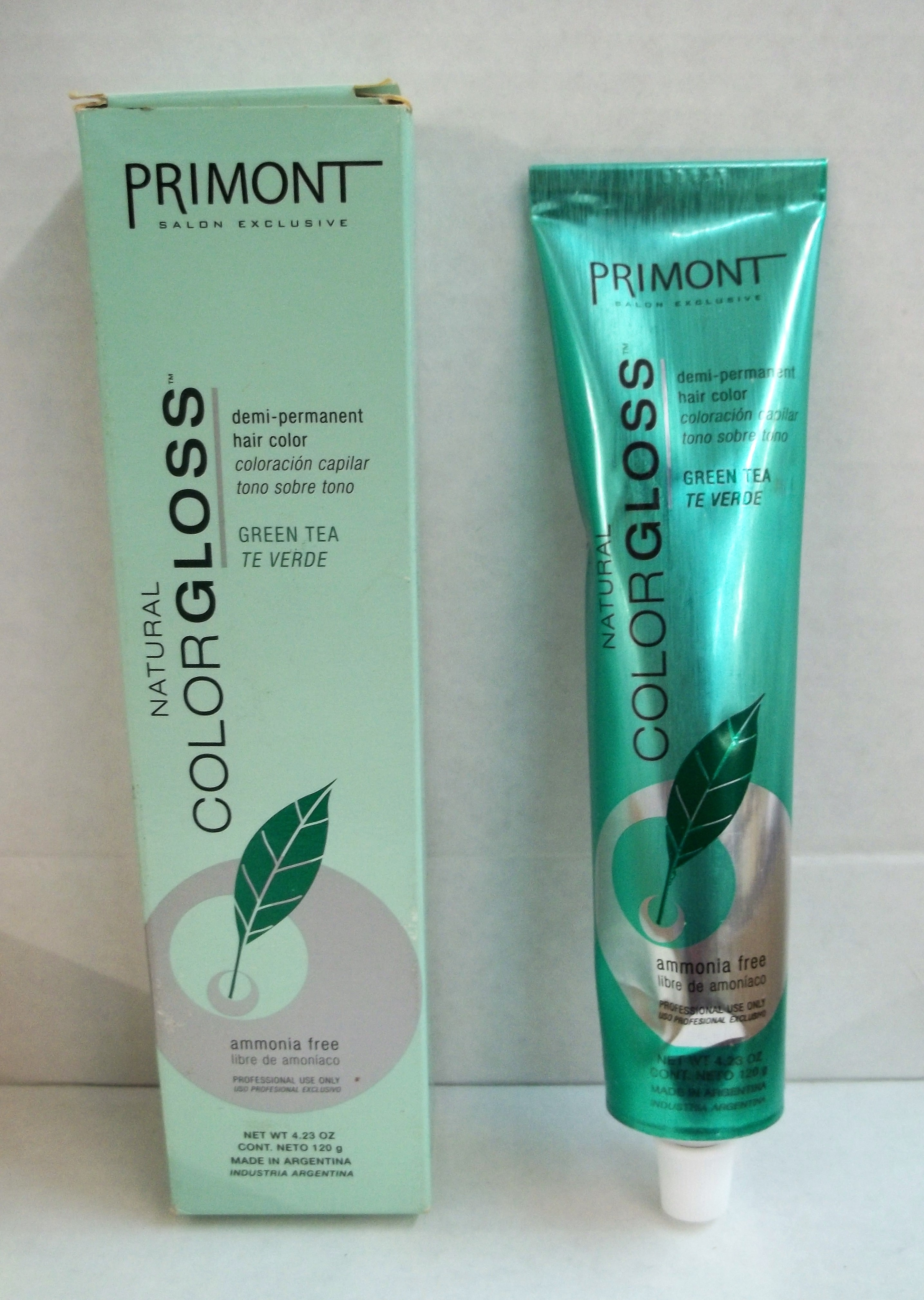 Primont Natural Color Gloss Demi Permanent Ammonia Free Hair Color