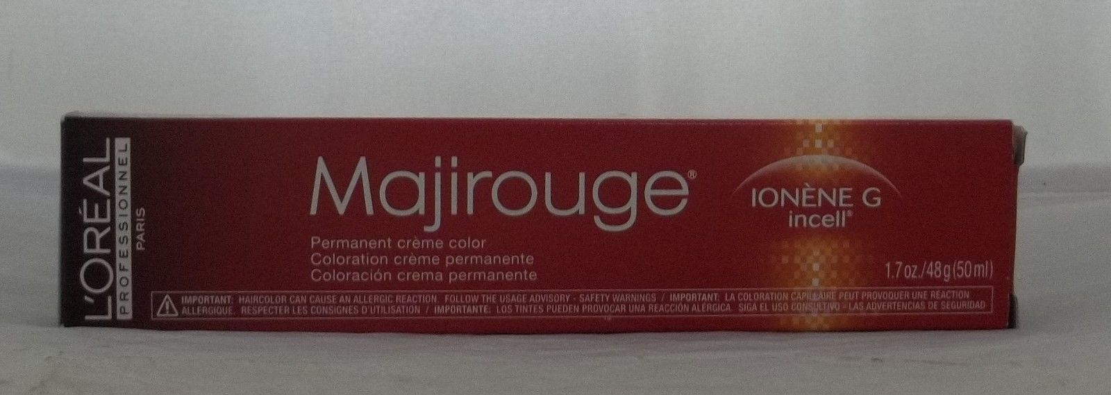 Loreal Majirouge Permanent Cream Hair Color Mastery Of Brilliant